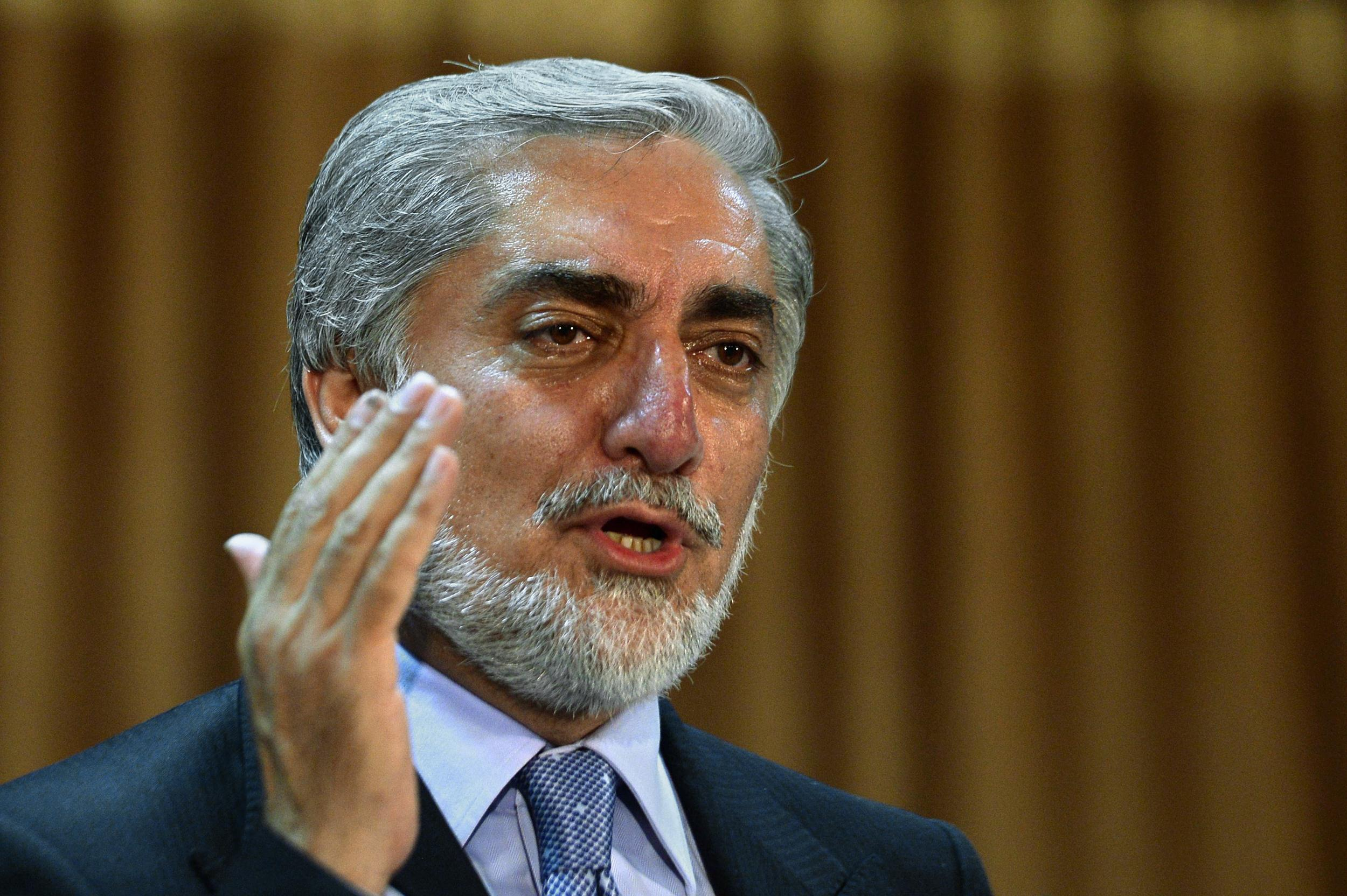 Elections the Sole Way to Determine Afghanistan's Political Future: CE Abdullah