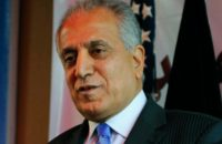 National & Inclusive Afghan Negotiating Team Necessary: Khalilzad