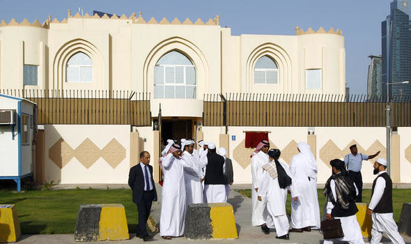Once held in Guantanamo, 'Leading' Taliban Men Now Found in Their Qatar Political Office