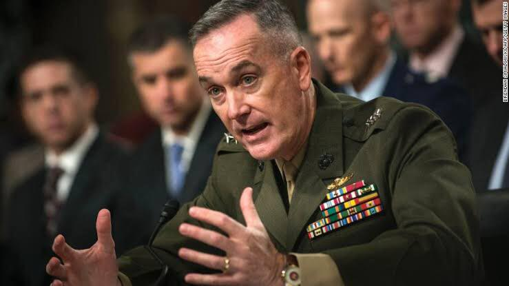US Joint Chief of Staffs Says Afghan Security Forces Provide Encouragement