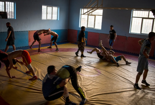 "The Reopening of the Maiwand Wrestling  Club: ""The Glass only gets sharper after being broken"""