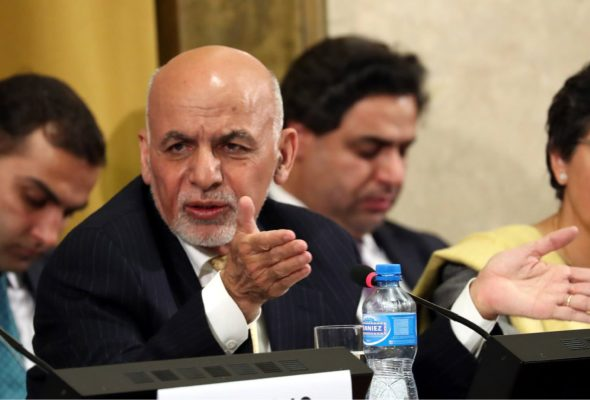 Ghani Unveils Five-Year Peace Plan at Geneva Summit, Affirms Afghan-led Afghan-Owned Process