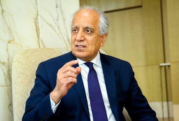 Khalilzad Feels Taliban was Wrong in Refusing to Discuss with Afghan Govt, Questions Taliban's Will for Peace