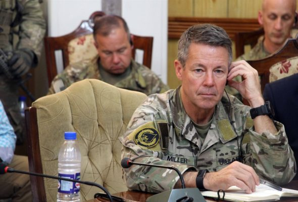 Solution in Afghanistan is Political, Not Military: Gen Scott Miller