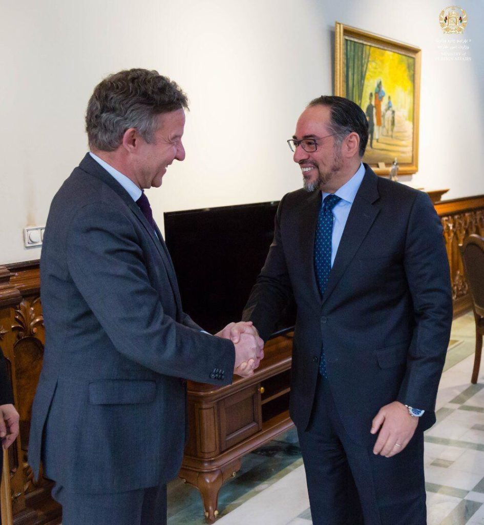 Minister of Foreign Affairs Meets Special Representative of