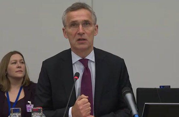 We Are in Afghanistan to Help the People & Help Ourselves: NATO Chief at Foreign Ministers Meet