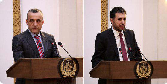 As Saleh and Khalid Take Over as Acting Ministers of Interior and Defense Respectively, Prez Ghani Praises Barmak & Bahrami for their Work