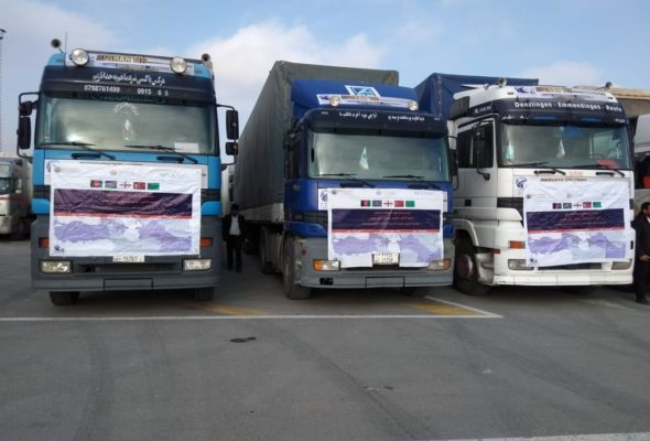 First Transit Cargo via Lapis Lazuli Arrives in Azerbaijan