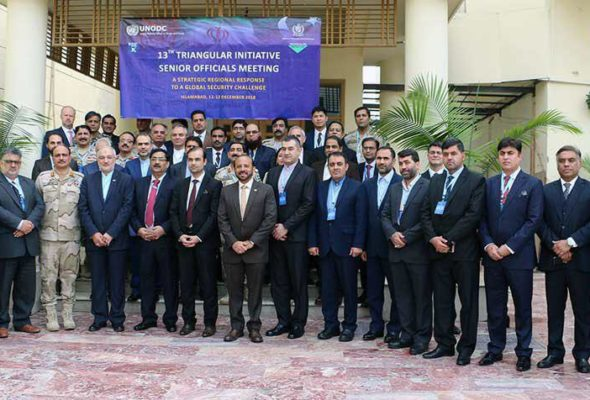 Afghanistan, Iran and Pakistan Hold Triangular Initiative Meet on Narcotics Control in Islamabad