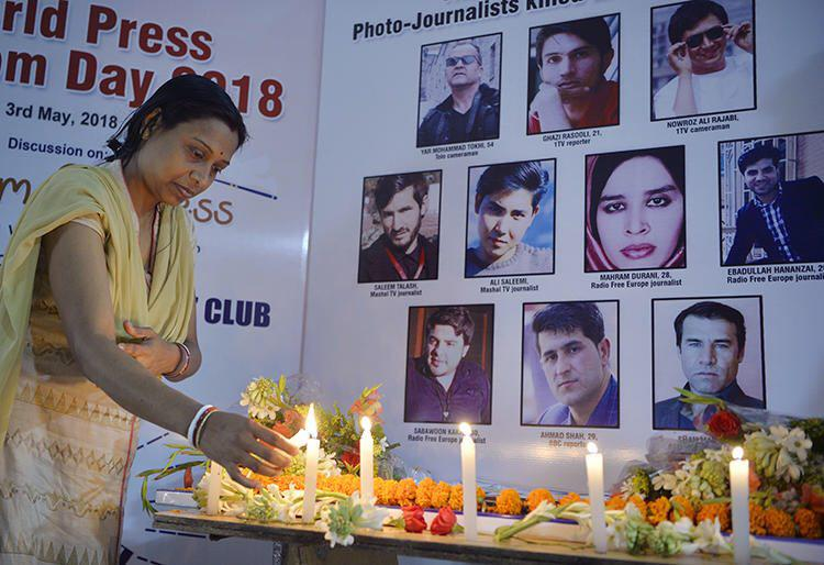 Afghanistan Deadliest Country for Journalists in 2018, Estimates CPJ