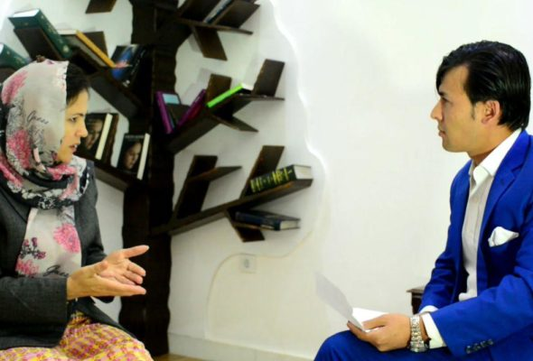 "Taliban's war is the war for ""Power"": Reporterly's Interview with Fawzia Koofi"