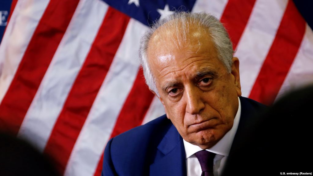 Khalilzad Stresses The Road To Peace Will Require The Taliban To Sit With The Afghan Government, Says US Will Fight If Taliban Does
