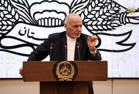 Ghani Says Will Call for Grand Assembly to Consult on Peace