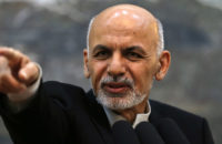 Ghani Calls on International Community Not to Stay Silent Against Such Attacks