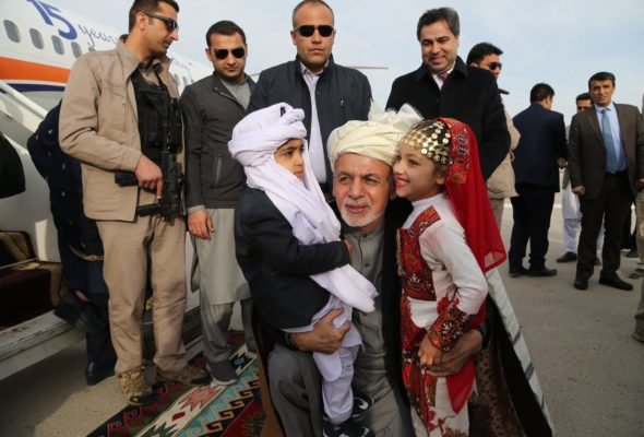 Afghanistan to be an Exporter Country: President Ghani at Chabahar Shipment Export Inaugural Ceremony in Nimroz