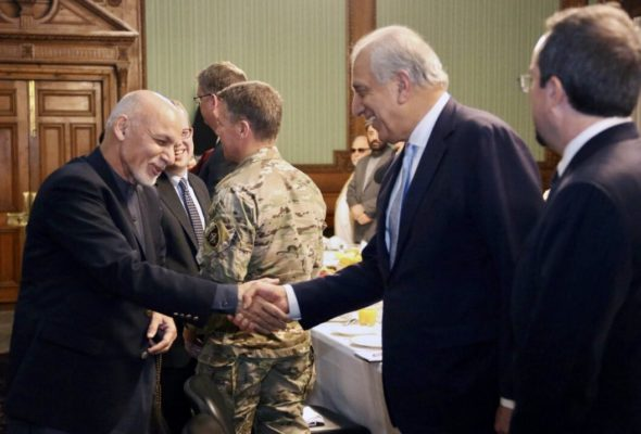 President Ghani: Taliban and Pakistan Must Make Their Relations Clear