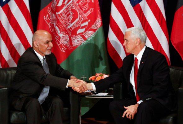US Lawmakers Assure President Ghani Against Wide Drawdown of Troops from Afghanistan