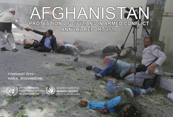 Civilian Deaths from Afghan Conflict Hit Record High in 2018, Says UN Report