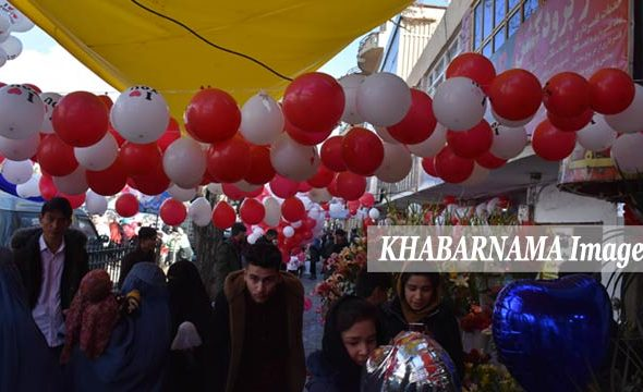 Valentine's In Kabul: The City Which Was Red By Blood, is Colored by Flowers this Time