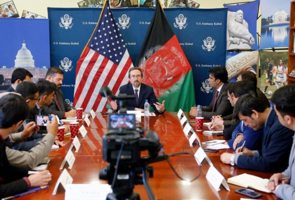 Afghans Deserve to Make Their Own Choices About Peace: US Ambassador John Bass
