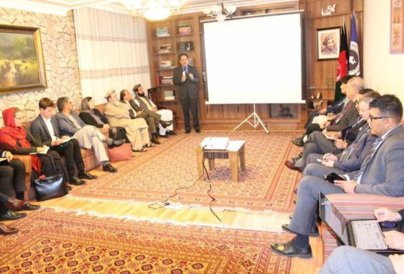 "Proposal of ""Caretaker Government"" Presented to Foreign Diplomats"