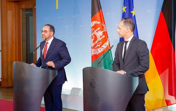 "FM Rabbani Meets his Counterpart in Germany, Expresses ""Afghanistan After Peace Shall be Different"""
