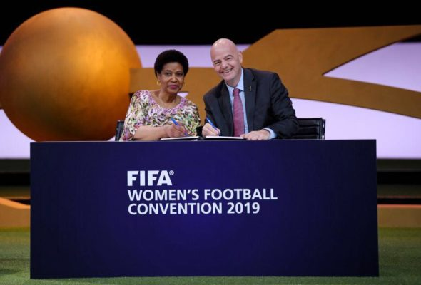 First Ever MoU Signed Between FIFA & UN Women