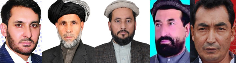 Elected Lawmakers of Afghan House of Representatives (34); Path of 10 Representatives from Kabul, Helmand and Logar Province
