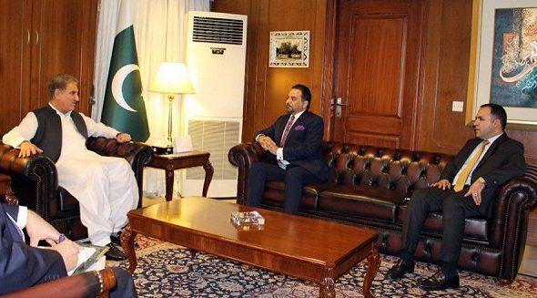 Deputy Foreign Minister Zaman Meets Pak Counterpart Qureshi
