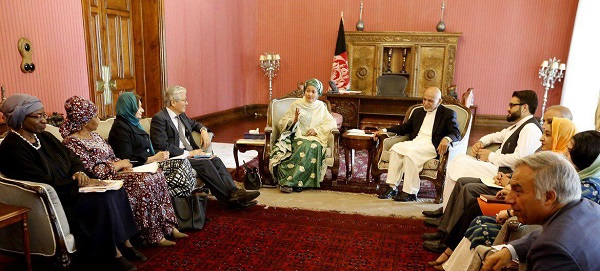 UN Deputy SG Amina Mohammad Emphasises on End to Violence, Inclusive Peace Process & Credible Elections in Afghanistan