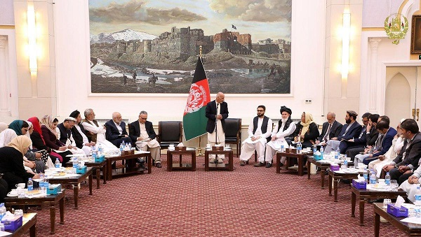 President Ghani: The Only Logical Way for Peace Is Direct Talks Between Afghan Govt and Taliban