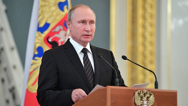 Russia Aids Afghanistan in Fighting Terrorism & Drug Crimes: Russian Prez Putin