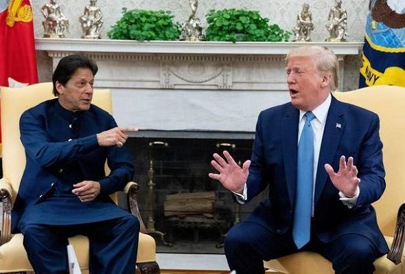 Trump During Meet With Pak PM Khan: Could've Won Afghan War Militarily by Brute Force