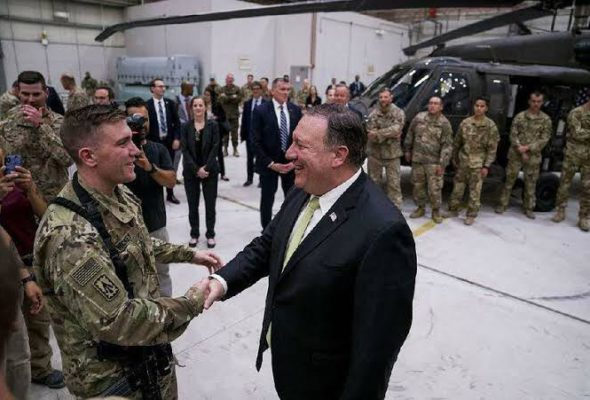 "Mission is to End Afghanistan's Position as ""Platform for Terror"", Says Pompeo on Peace Process"