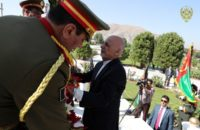 "President Ghani on Independence Day Tells Taliban ""Don't Deny Reponsibility of Your Violence"""