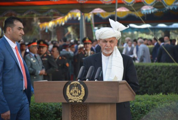 President Ghani Wishes Afghans on Eid, Calls on Politicians to Unite