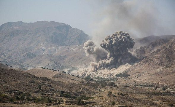 Almost 40 Strikes Every Day in Afghanistan Last Month: Pentagon