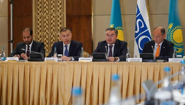 Kazakh FM Urges Multilateral Approach on Afghanistan at OSCE Roundtable