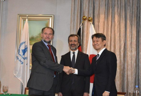 Japan's contribution of $ 2.7 Million Boosts Food Assistance Mission in Afghanistan