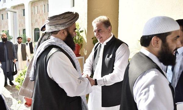 Afghan Taliban Delegation Meets Pakistani FM Qureshi