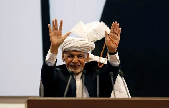 Presidential Candidate Ashraf Ghani Secures Majority of Votes in Preliminary Results