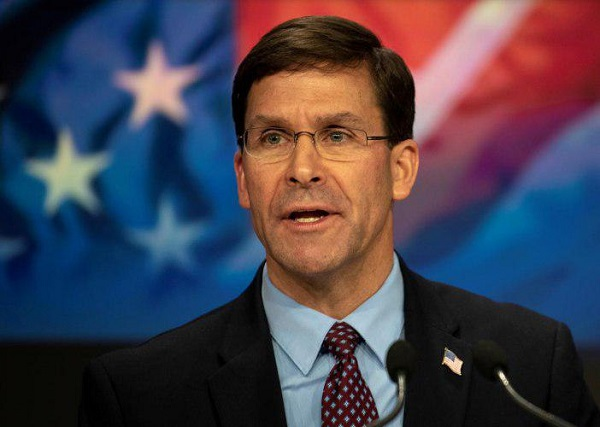 U.S. Troop Drawdowns in Afghanistan 'Not Necessarily' Tied to Taliban Deal: Esper