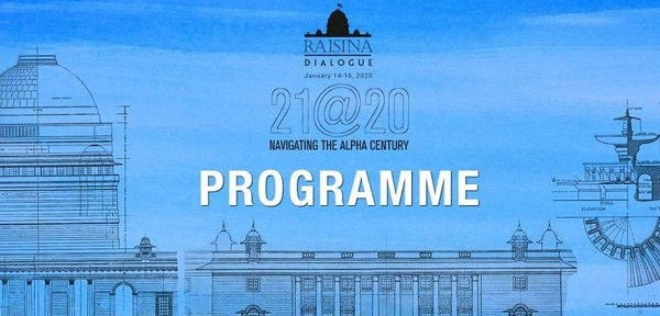 Raisina Dialogue 2020 to Address Global Issues Kicks Off