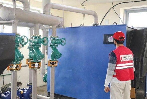 QRCS Provides Modern Heating System at Kabul Asylum