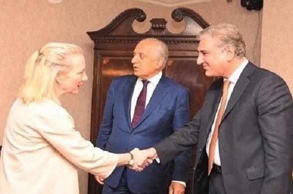 Alice Wells in Pakistan Ahead of Afghan Peace Deal