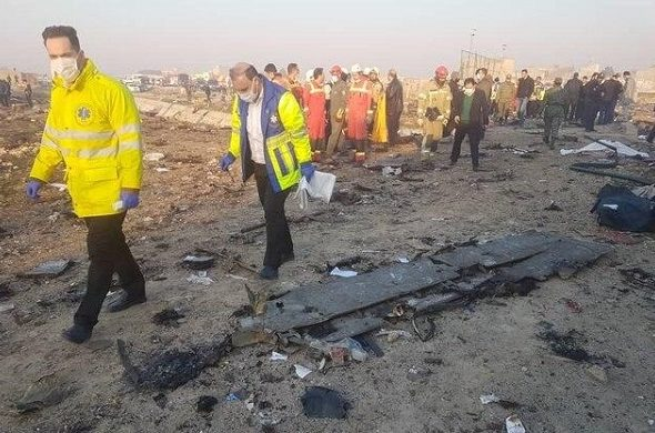 Ukranian Airlines Plane Crashes in Tehran Following Take-Off