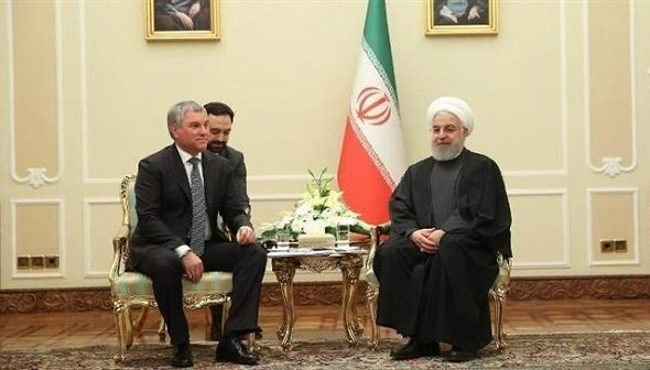Iran, Russia Developing Ties Despite US Will: Rouhani