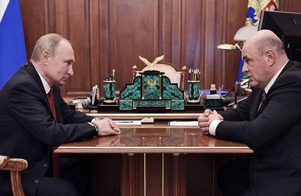 Putin Names Head of Tax Service Mikhail Mishustin As New Prime Minister