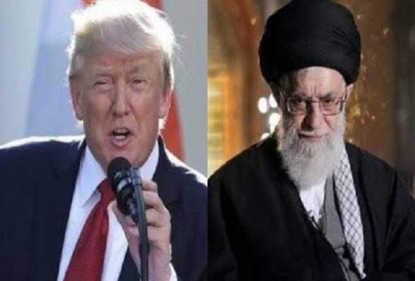 Trump Warns Iran's Supreme Leader To Be 'Careful With His Words'