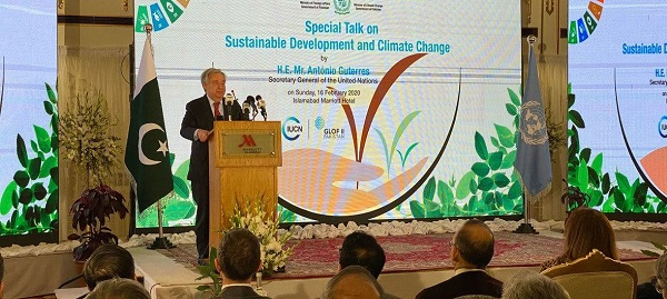 UN Chief Urges World to Step Up Climate Action, Praises Support to Afghan Refugees